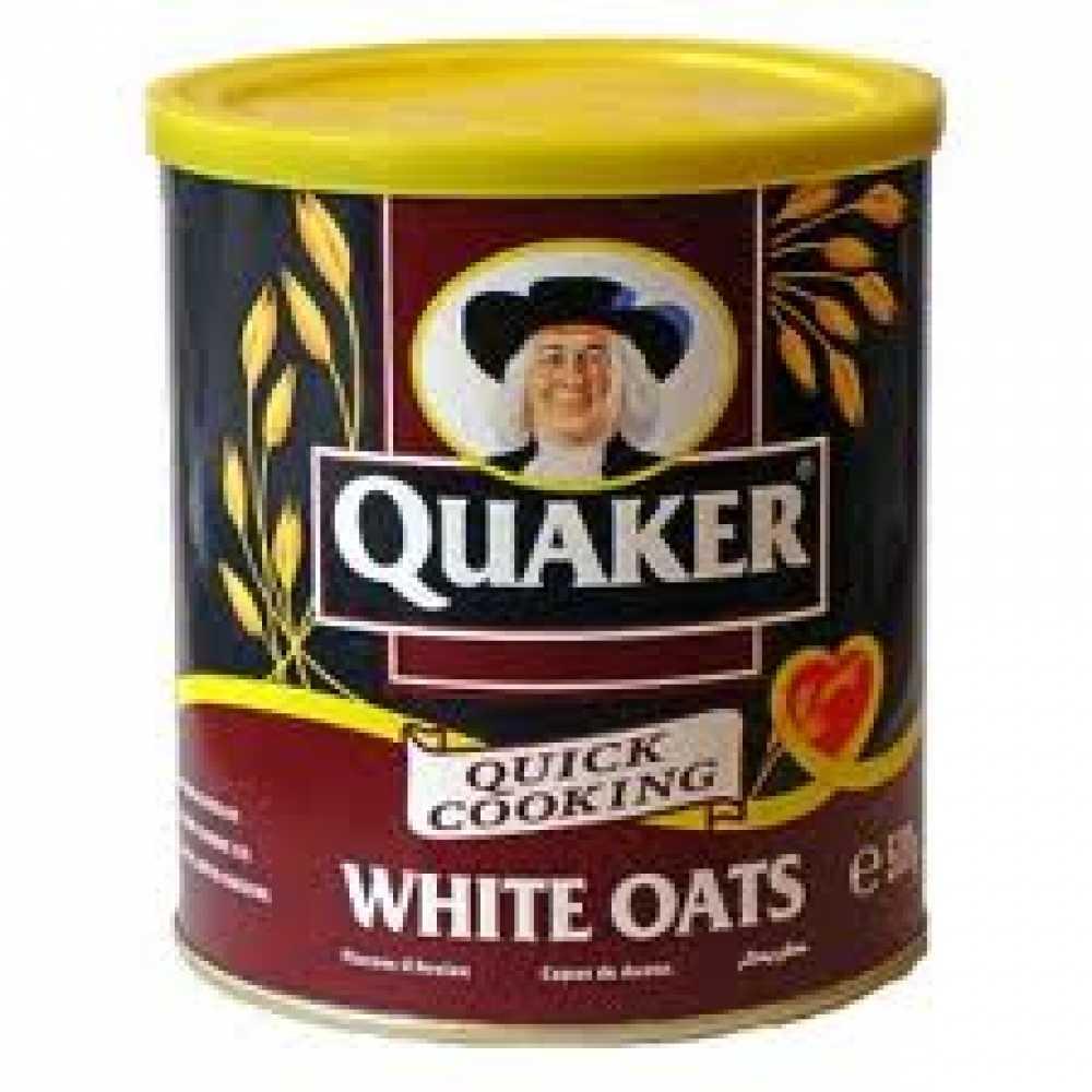 Quaker White Oats 500g  Quaker Oatmeal Clipart