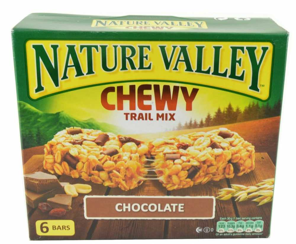 Nature Valley Chewy Trail Mix Chocolate 6 Bars | Approved Food