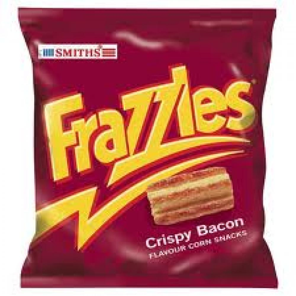 Smiths Frazzles Crispy Bacon Flavour Snacks 23g