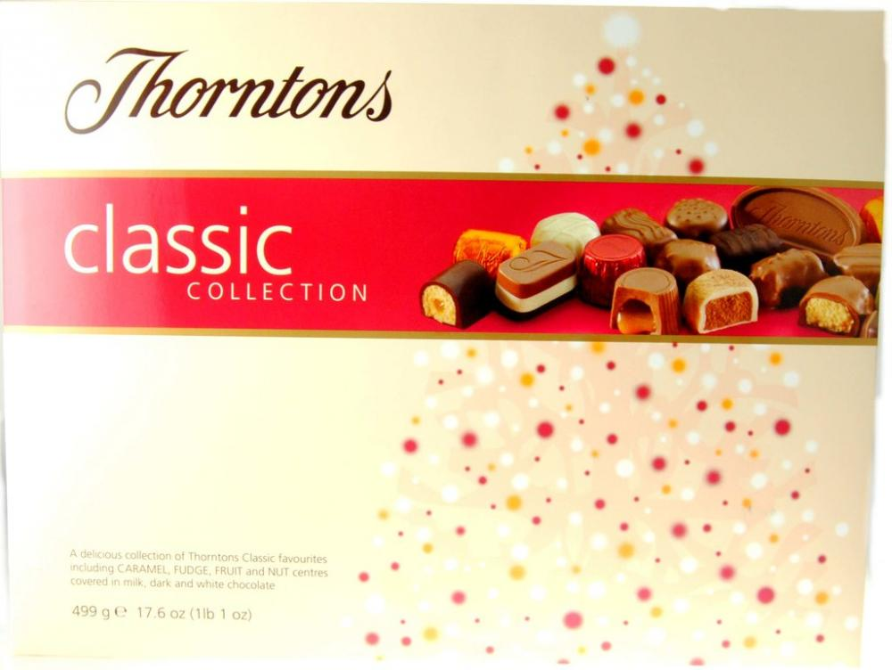 Thorntons Classic Collection 499g