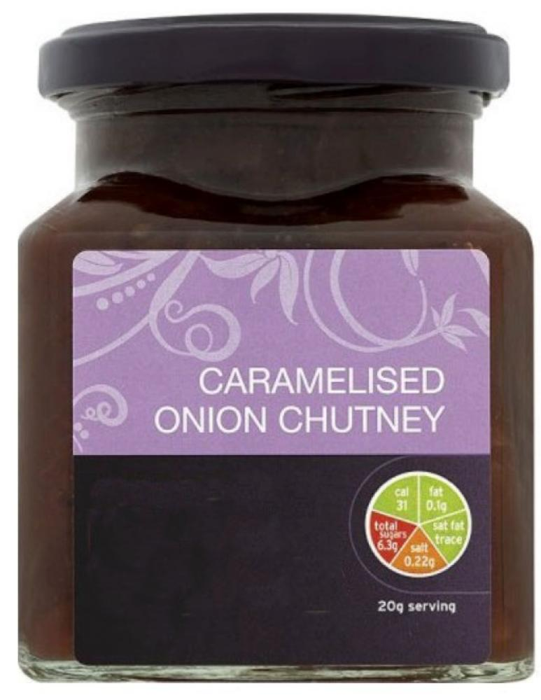 De Identified Caramelised Onion Chutney 195g