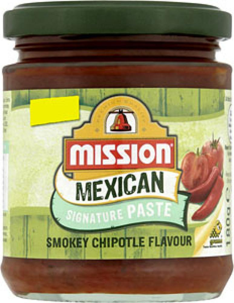 Mission Mexican Signature Paste Smokey Chipotle Flavour 180g